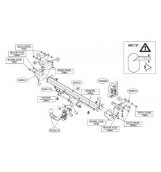 Фаркоп на Nissan Juke 558500