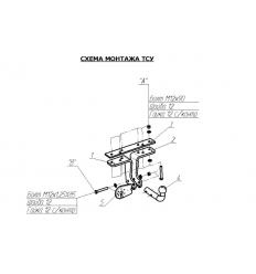 Фаркоп на Nissan Pathfinder 4350A