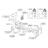 Фаркоп на Toyota Auris 529800
