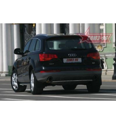 """Защита задняя """"труба"""" на Audi Q7 AUDQ.75.0344"""