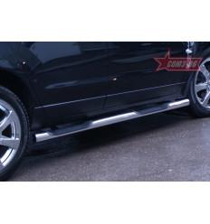Пороги с проступями Cadillac SRX CSRX.81.1356