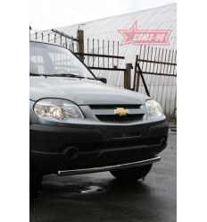 "Защита переднего бампера ""труба"" на Chevrolet Niva CN09.48.0845"
