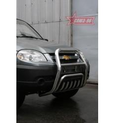 Решетка передняя мини на Chevrolet Niva CN09.55.0846