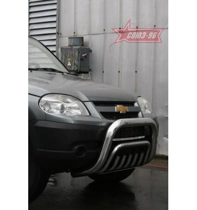 Решетка передняя мини на Chevrolet Niva CN09.56.0848
