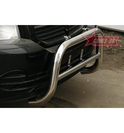 Защита переднего бампера на Dodge Caliber DODG.48.0431