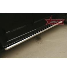 Пороги труба на Dodge Caliber DODG.80.0432
