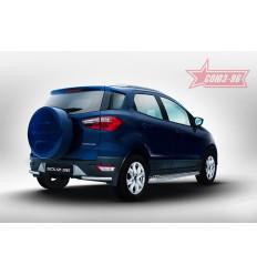 """Защита задняя  """"уголки"""" на Ford EcoSport FECO.76.5235"""