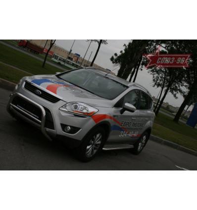 Решетка передняя мини на Ford Kuga FKUG.56.0670
