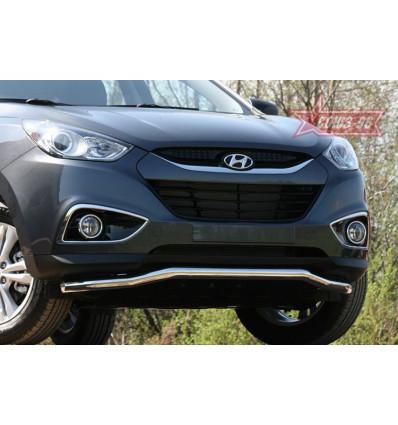 "Защита переднего бампера ""волна"" на Hyundai ix35 HYIX.48.1058"