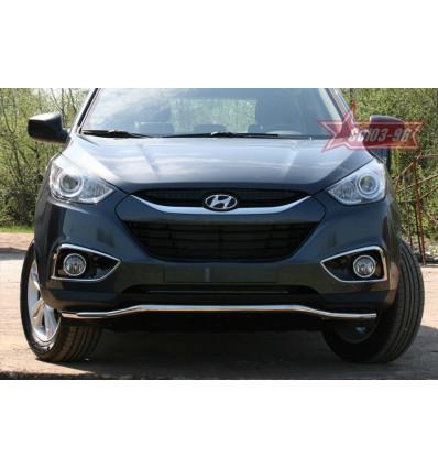 "Защита переднего бампера ""волна"" на Hyundai ix35 HYIX.48.1059"