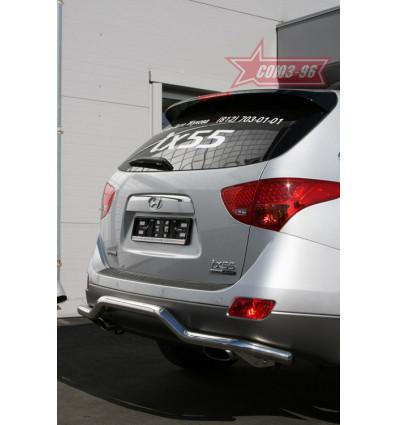 """Защита задняя """"волна"""" на Hyundai ix55 HYIX.75.0902"""