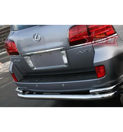 Защита задняя на Lexus LX 570 LX57.75.0633