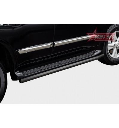 Защита штатного порога на Lexus LX 570 LX57.86.1991