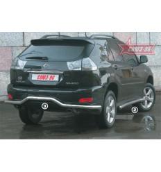"""Защита задняя """"волна"""" на Lexus RX II 300/330 LEXR.75.0087"""