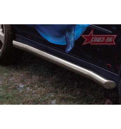 Пороги труба на Lexus RX II 400 LEXR.80.0288