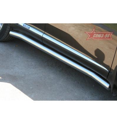 Пороги труба на Lexus RX III 350/450H LXRX.80.1096