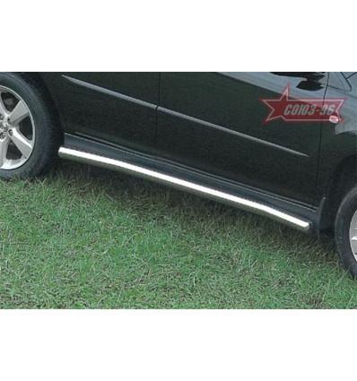 Пороги труба на Lexus RX II 300/330 LEXR.80.0085