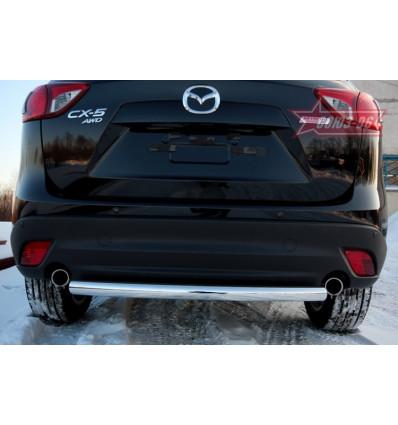 Защита задняя труба на Mazda CX-5 MCX5.75.1425