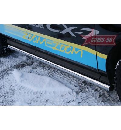 Пороги труба на Mazda CX-7 MACX.80.0549