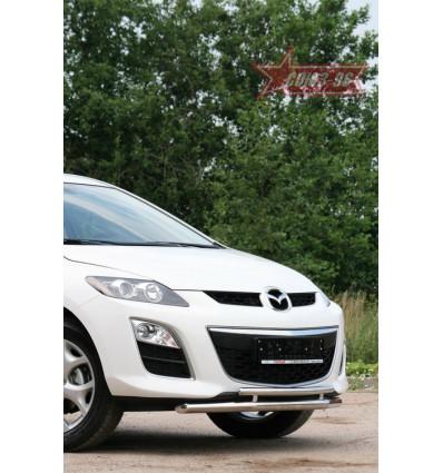 Защита переднего бампера на Mazda CX-7 MACX.48.1110