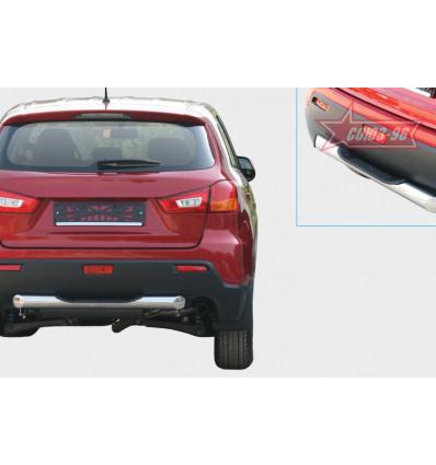 """Защита задняя """"ступень"""" на Mitsubishi ASX MASX.75.1137"""