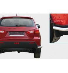 """Защита задняя """"уголки"""" на Mitsubishi ASX MASX.76.1139"""