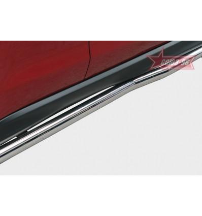 Пороги труба на Mitsubishi ASX MASX.80.1130
