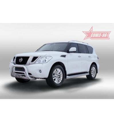 Защита нижняя на Nissan Patrol NPAT.59.1202