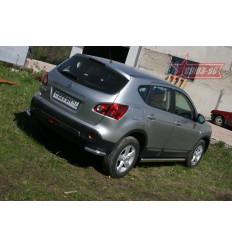 """Защита задняя """"уголки"""" Nissan Qashqai NQSH.76.0458"""