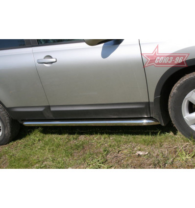 Пороги труба Nissan Qashqai NQSH.80.0454