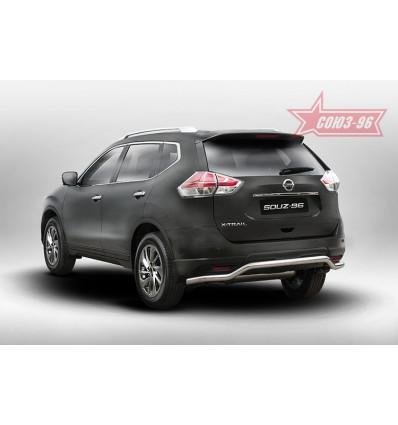 Защита задняя на Nissan X-Trail NXTR.75.5273
