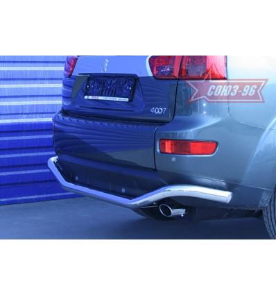 Защита задняя на Peugeot 4007 PEUG.75.0643