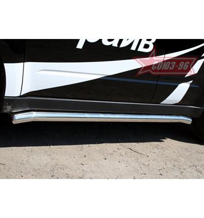 Пороги труба на Subaru Forester SUFR.80.0691