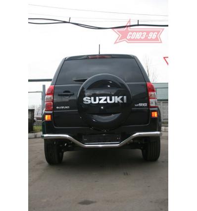 """Защита задняя """"волна"""" на Suzuki Grand Vitara SZGV.75.0766"""