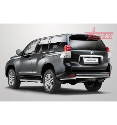 Защита задняя на Toyota Land Cruiser 150 TC15.75.0995