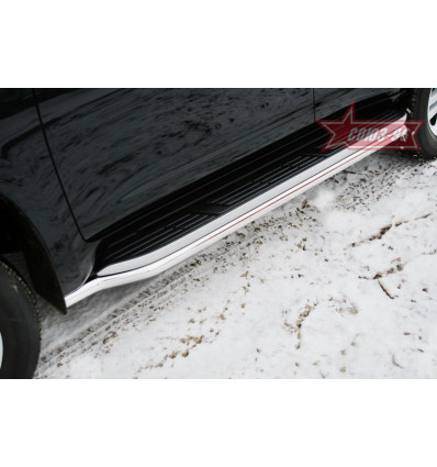 Защита штатного порога на Toyota Land Cruiser 150 TC15.86.0988