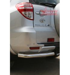 "Защита задняя ""уголки"" на Toyota Rav 4 TRAV.76.0871"