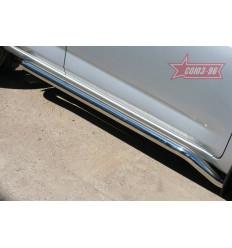 Пороги труба на Toyota Rav 4 TRAV.80.1079
