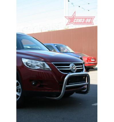 Решетка передняя мини на Volkswagen Tiguan VWTI.56.0904