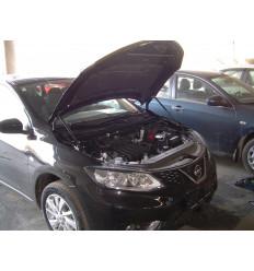 Амортизатор (упор) капота на Nissan Tiida KU-NI-TI02-00