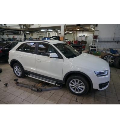 Пороги (Brillant) на Audi Q3 AUQ3.48.3325