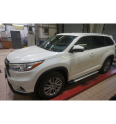 Пороги (Brillant) на Toyota Highlander TOHI.48.2502