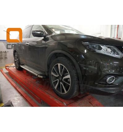Пороги (Brillant) на Nissan X-Trail NIXT.48.3162