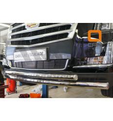 Защита переднего бампера  Cadillac Escalade CAES.33.3346
