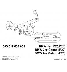 Фаркоп на BMW 1 303317600001
