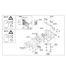 Фаркоп на Lexus LX 570 424600