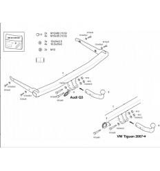 Фаркоп на Audi Q3 305423900113