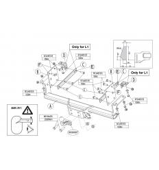 Фаркоп на Renault Master 547400