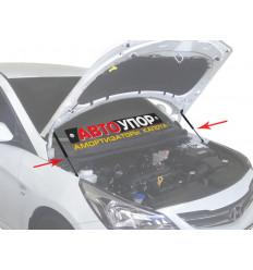 Амортизатор (упор) капота на Hyundai Solaris UHYSOL012