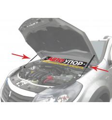 Амортизатор (упор) капота на Renault Sandero URESAN/STW011